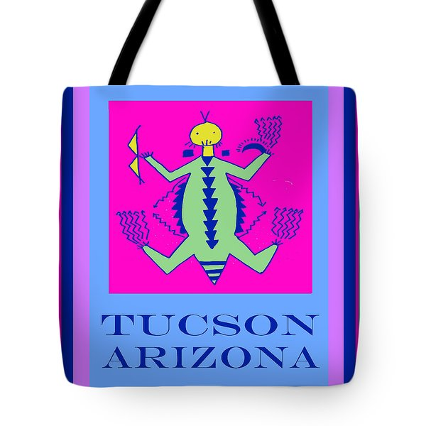 Tucson Arizona Shaman Tote Bag