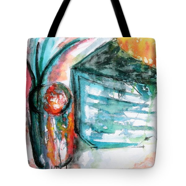 Tuesday Afternoon Tote Bag by Lyndsey Hatchwell
