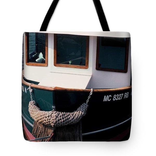 Tug  Tote Bag by Randy Pollard