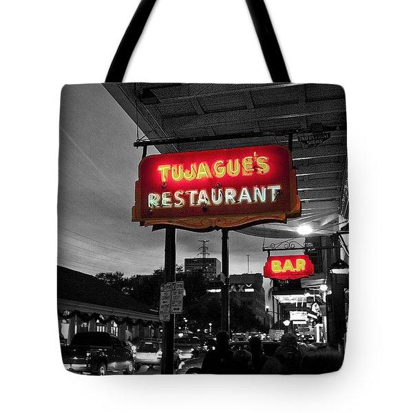 Tujague's Tote Bag by Scott Pellegrin