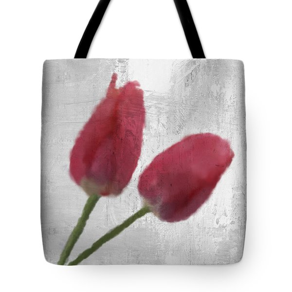 Tulip Tote Bag by Aged Pixel