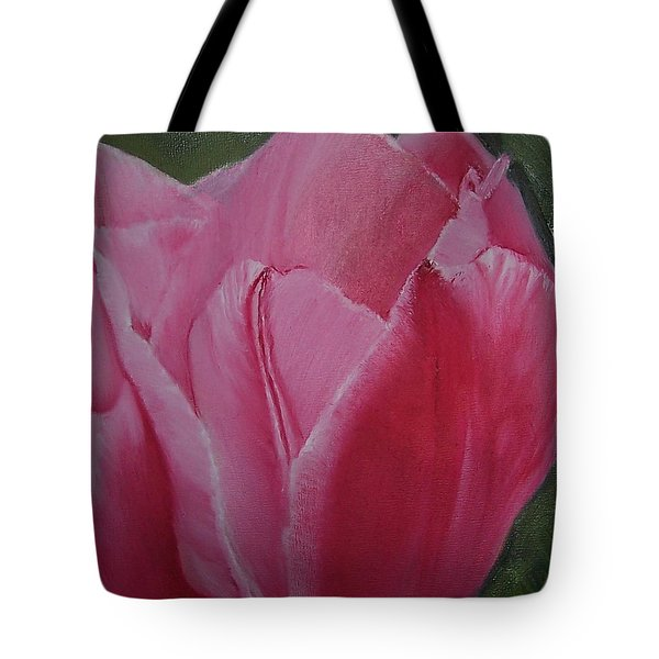 Tulip Blooming Tote Bag