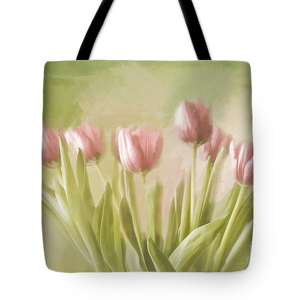 Tulip Bouquet Tote Bag by Linda Blair