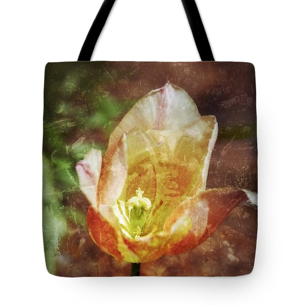 Tote Bag featuring the photograph Tulip by Darla Wood
