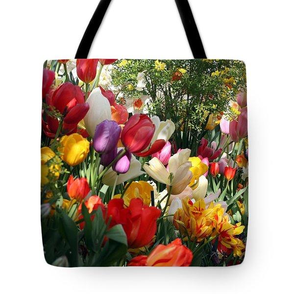 Tulip Festival Tote Bag