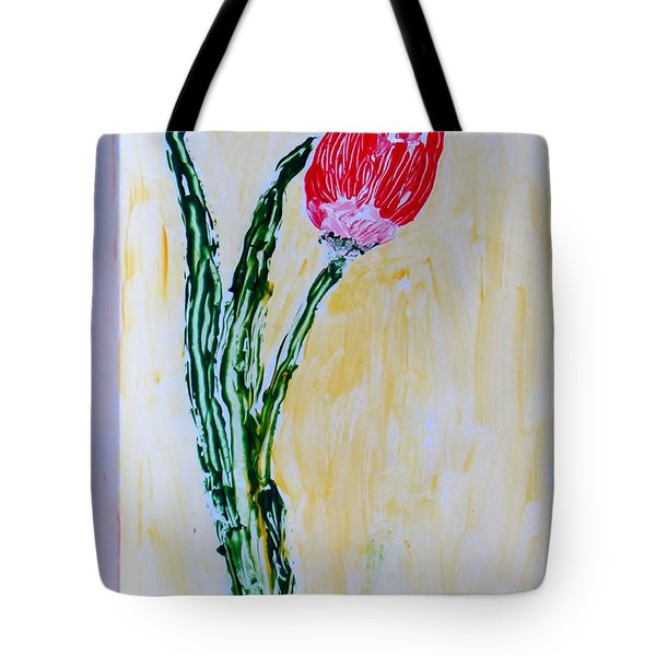 Tulip For You Tote Bag by Sonali Gangane