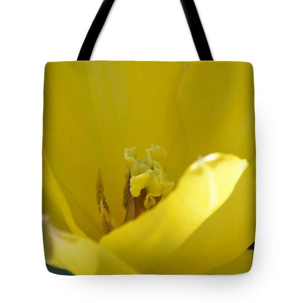 Tulip Heart Tote Bag by Maria Urso