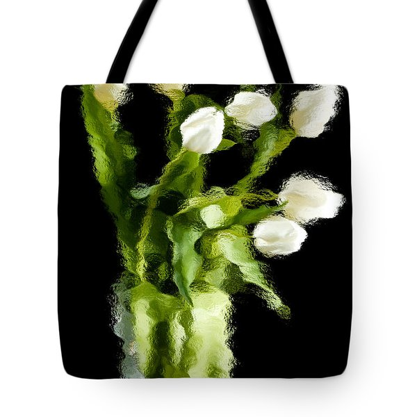 Tote Bag featuring the photograph Tulip Impressions Vii by Penny Lisowski