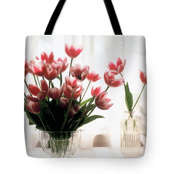 Tulip Tote Bag by Jeanette Korab