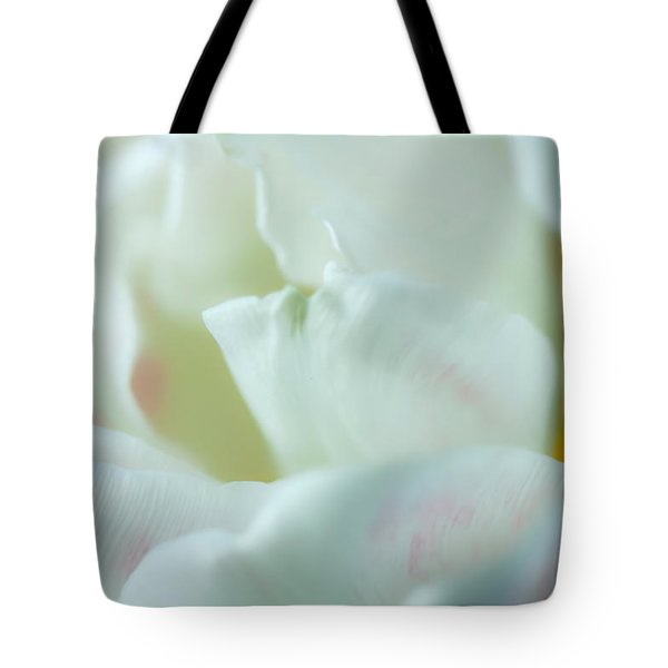 Tote Bag featuring the photograph Tulip by Jonathan Nguyen