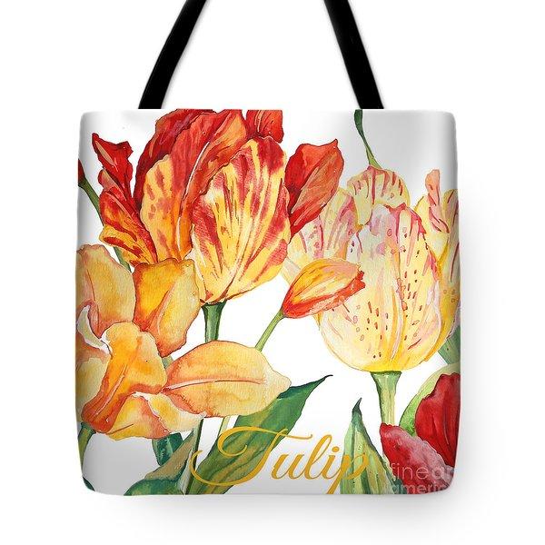 Tulip-jp2583 Tote Bag