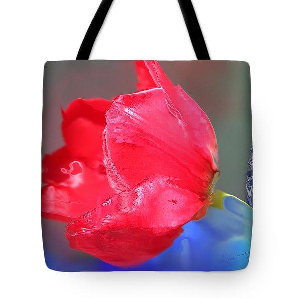 Tulip Tote Bag by Kume Bryant