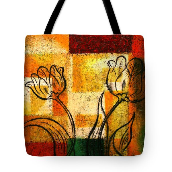 Tulip Tote Bag by Leon Zernitsky