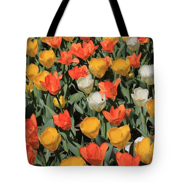 Tulip Stretch Tote Bag