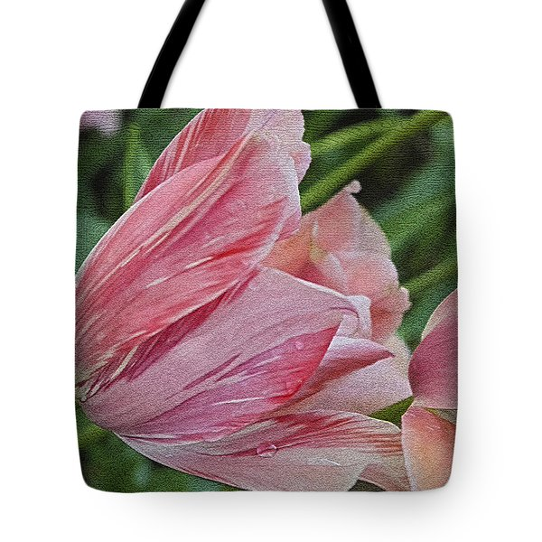 Tulip Tears Tote Bag