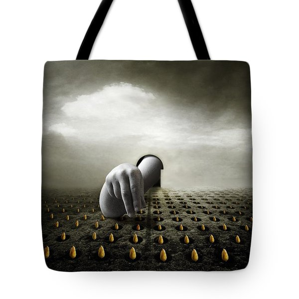 Tulip Thief Tote Bag