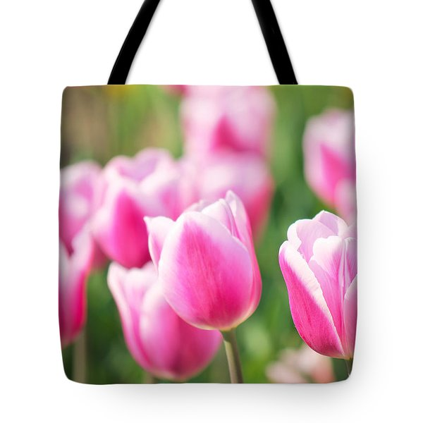 Tulip Time Tote Bag by Angela Doelling AD DESIGN Photo and PhotoArt