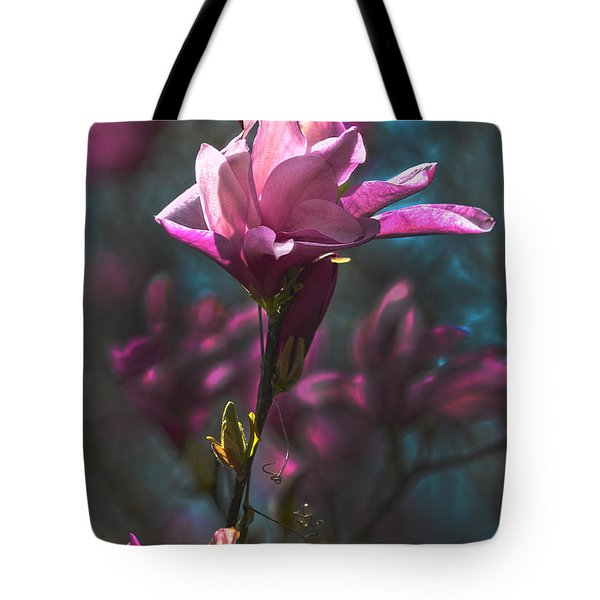Tulip Tree Blossom Tote Bag by Sandi OReilly