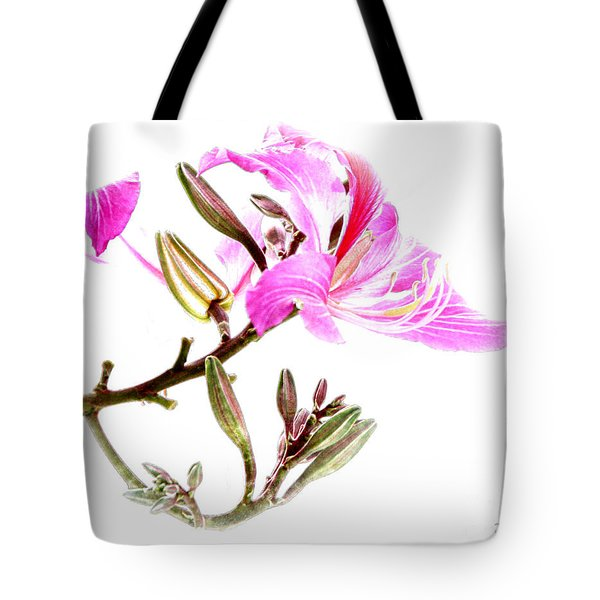 Tulip Tree Flowers Tote Bag