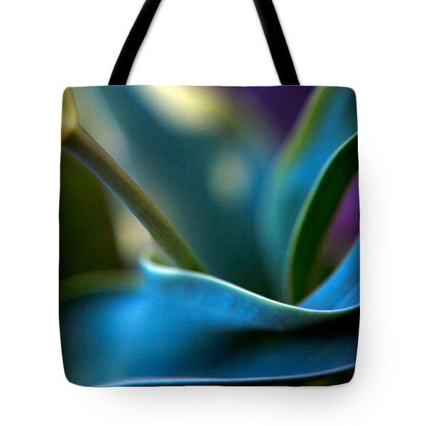 Tulip Unexpected Tote Bag by Theresa Tahara