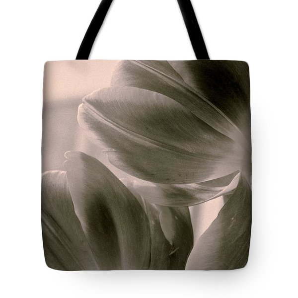 Tulips 2 Light Space Time  Botanicals Art Exhibition 2014  Special Merit Award Tote Bag