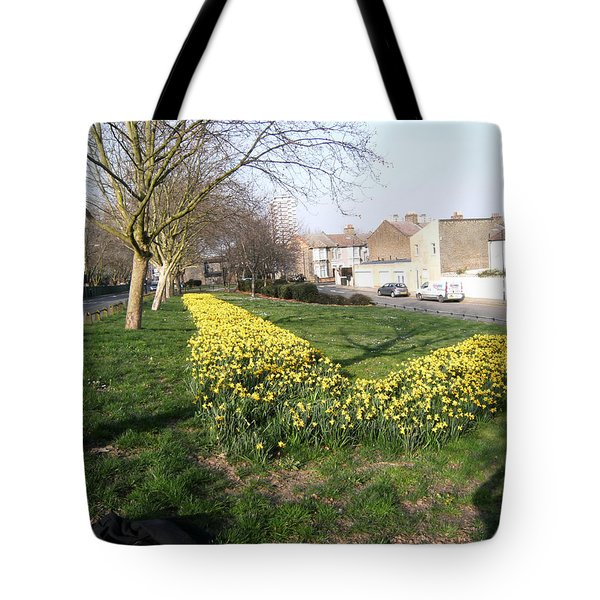 Tote Bag featuring the photograph  One Summer Day - 2014 At Upper Road - Plaistow by Mudiama Kammoh