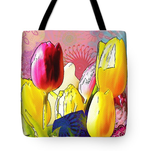 Tulips Tote Bag by Christo Christov