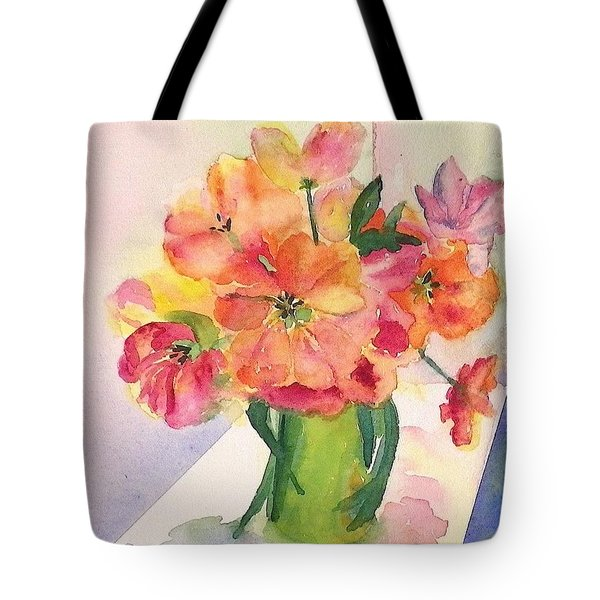 Tulips For Mother's Day Tote Bag