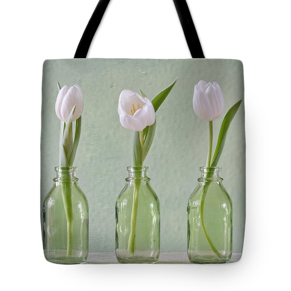 Tulips In A Bottle Tote Bag
