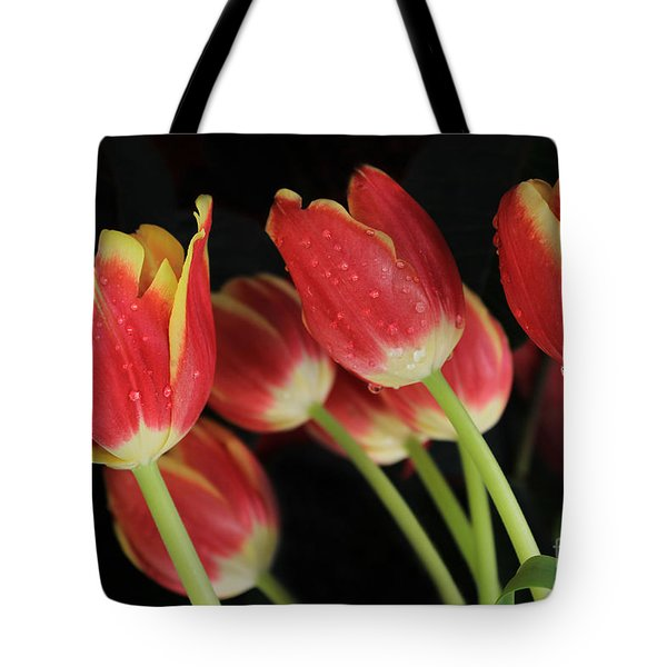 Tulips Tote Bag by Kristine Merc