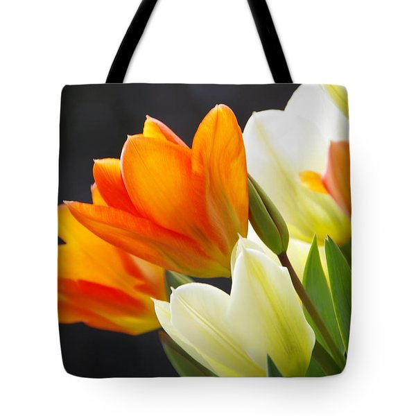 Tote Bag featuring the photograph Tulips by Marilyn Wilson