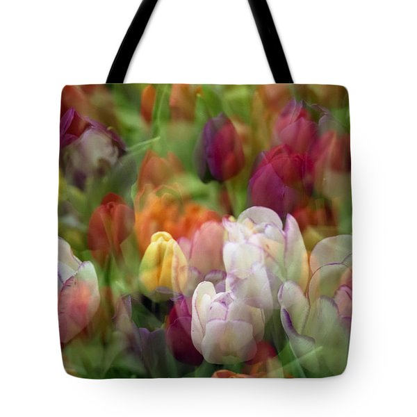 Tote Bag featuring the photograph Tulips by Penny Lisowski