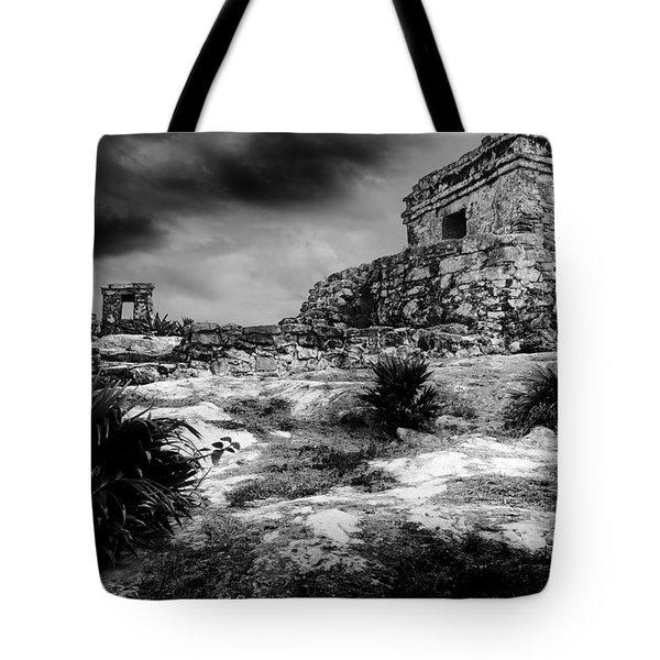 Tulum Ruin Tote Bag