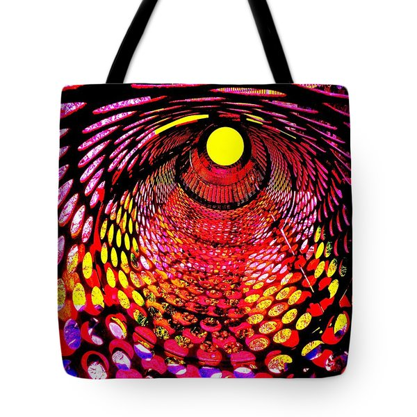 Tumbler Tote Bag by Robert Geary