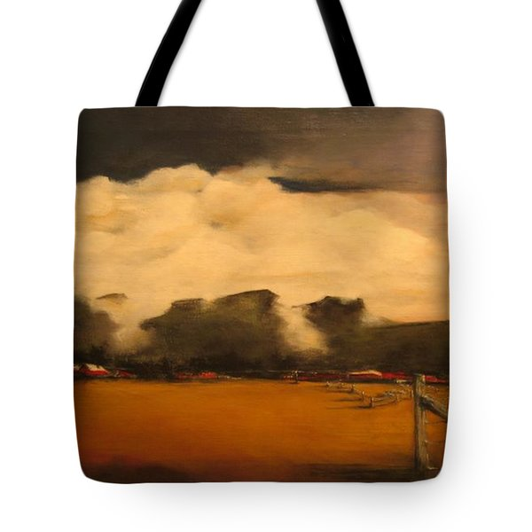 Tumbling Clouds Tote Bag
