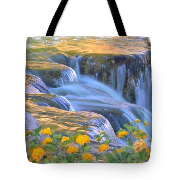 Tumbling Waters Tote Bag