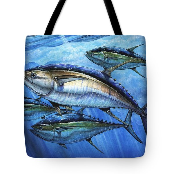 Tuna In Advanced Tote Bag