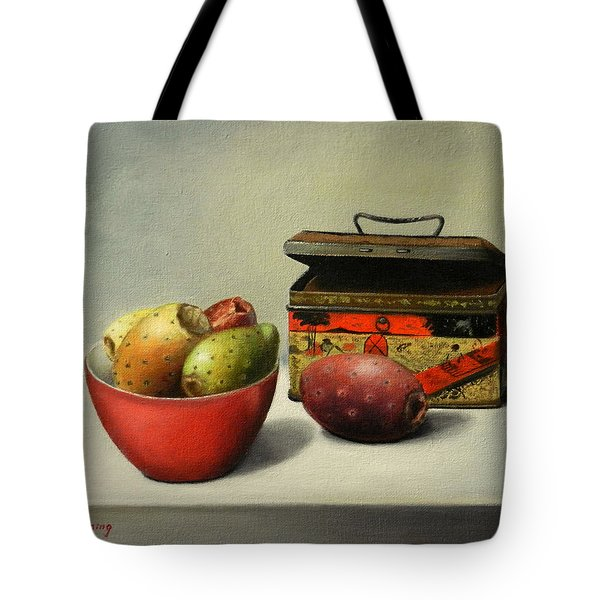 Tunas And Chinese Box Tote Bag