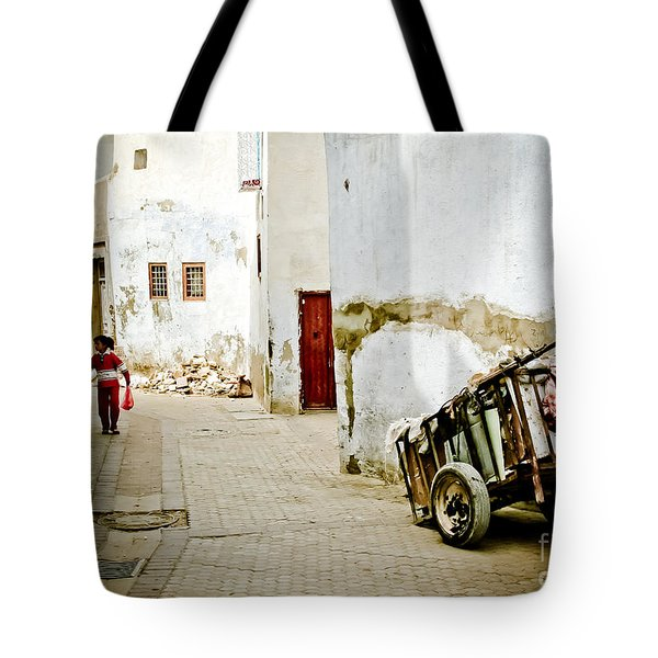 Tunisian Girl Tote Bag
