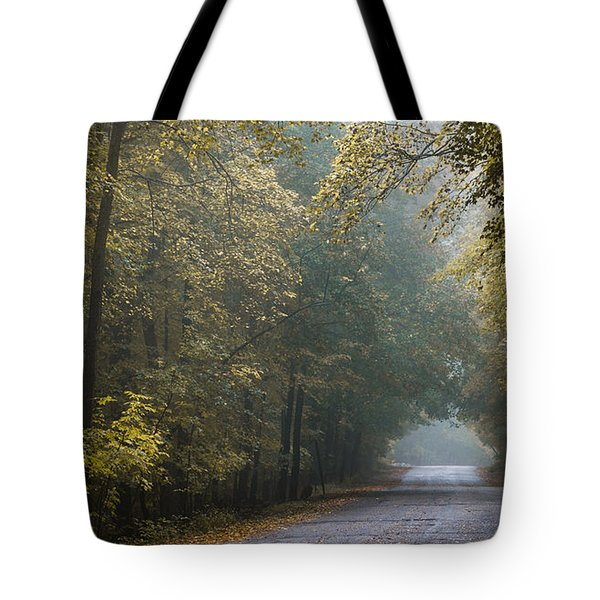 Tunnel Of Gold Tote Bag