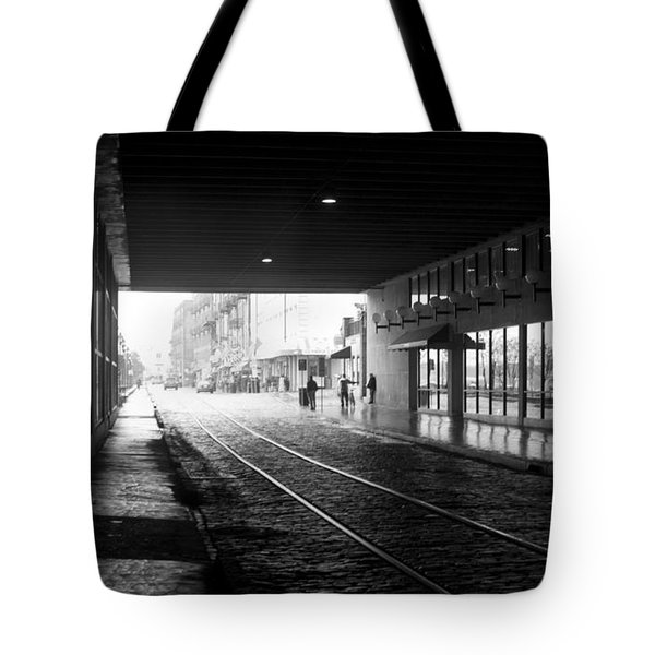Tunnel Reflections Tote Bag by Lynn Palmer