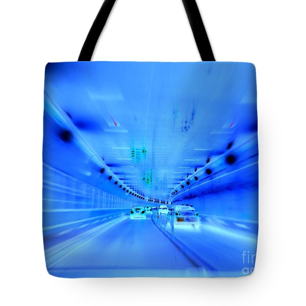 Tunnel Tension Tote Bag by Ed Weidman