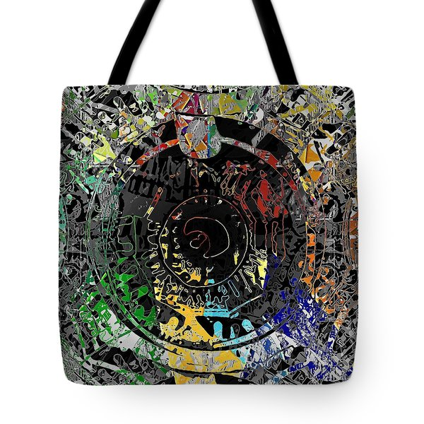 Tote Bag featuring the digital art Tunnel Vision by David Manlove