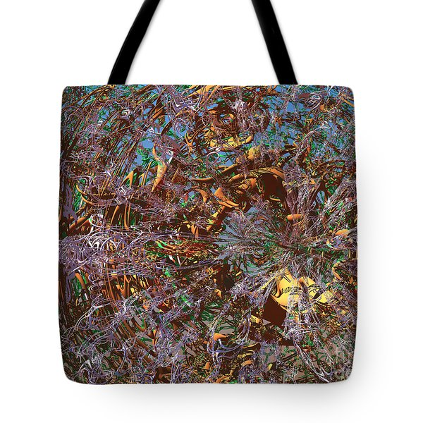 Tunnel Vision Tote Bag by Ed Churchill