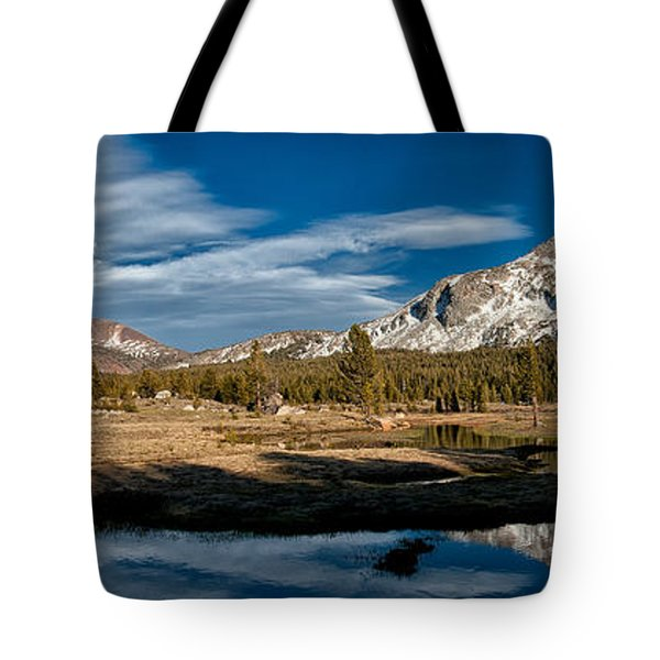 Tuolumne Meadows Tote Bag by Cat Connor