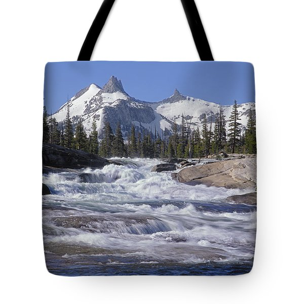 6m6539-tuolumne River  Tote Bag