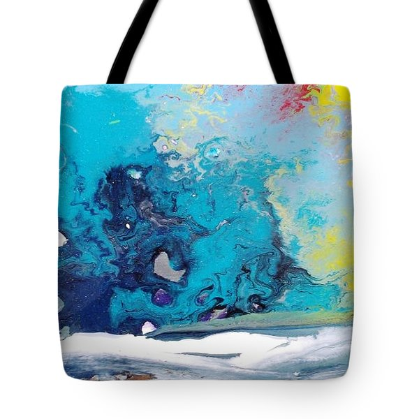 Turbulent 3 Tote Bag