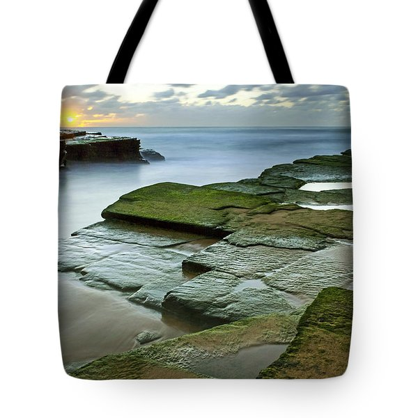 Turimetta Beach Sunrise Tote Bag