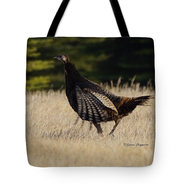 Tote Bag featuring the photograph Turkey by Steven Clipperton