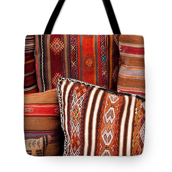 Turkish Cushions 01 Tote Bag by Rick Piper Photography
